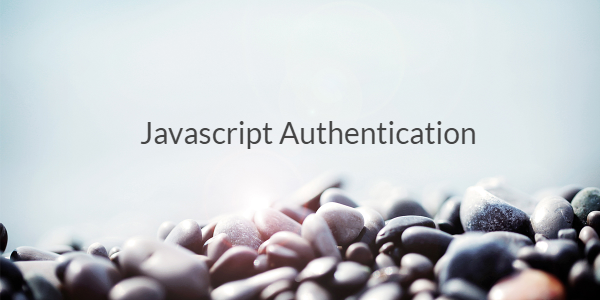 Javascript Authentication library